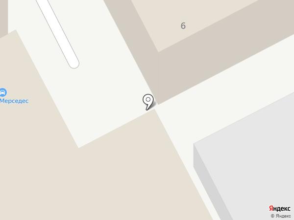 Автостиль на карте Москвы