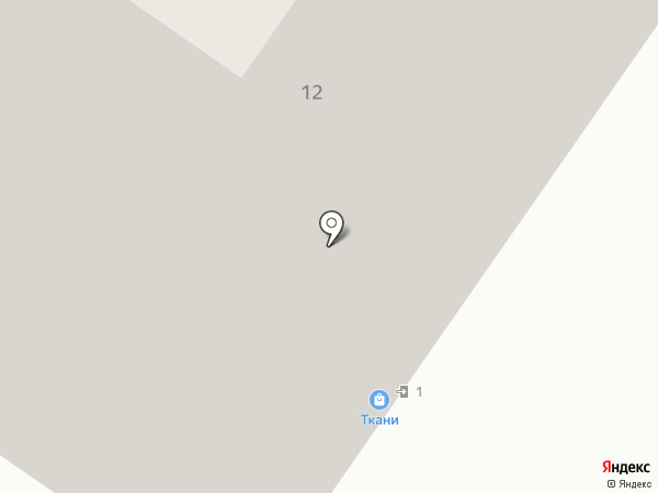 Ткани на карте Москвы