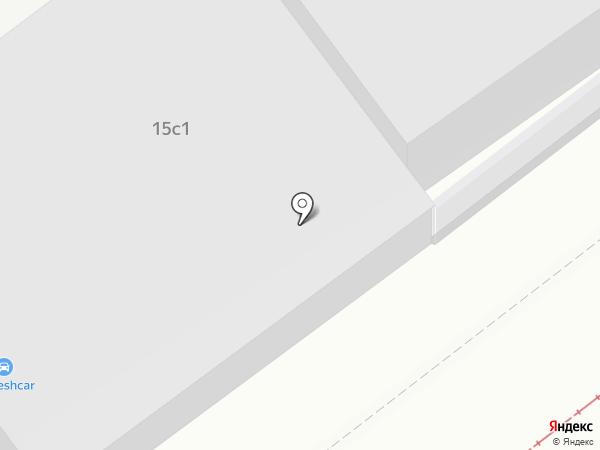 Азов на карте Москвы
