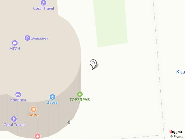 Косметическая студия Татьяны Рожковой на карте Москвы