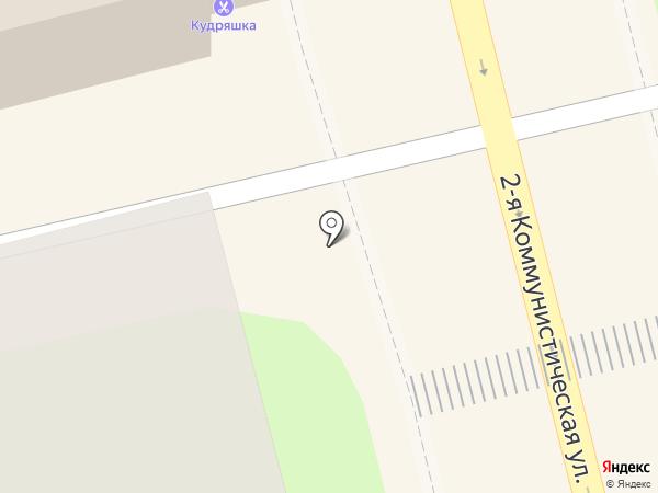 Кудряшка на карте Домодедово