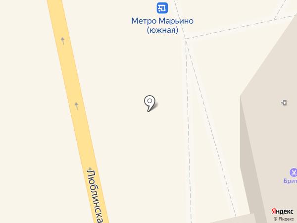 GREENBET на карте Москвы