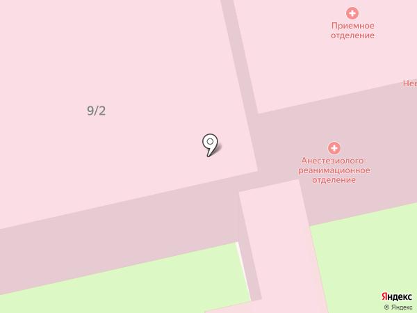 Домодедовская центральная городская больница на карте Домодедово