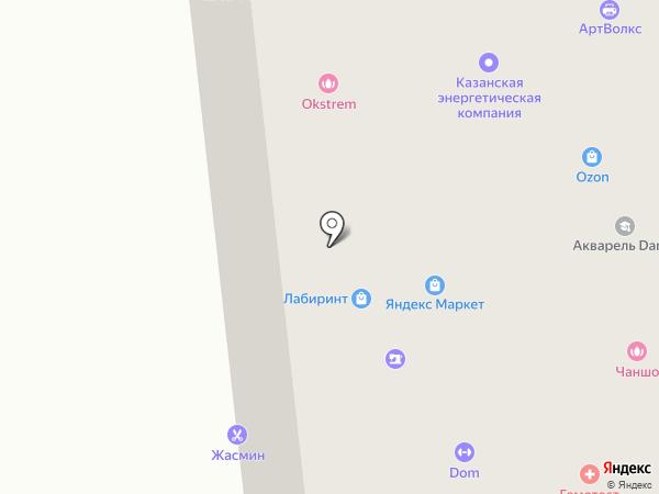 Жасмин на карте Мытищ