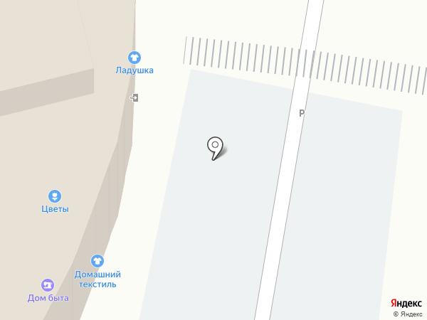 Визуал на карте Домодедово