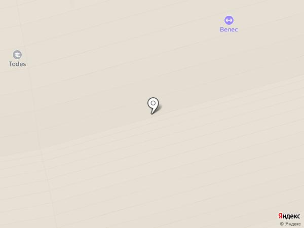 Todes на карте Домодедово