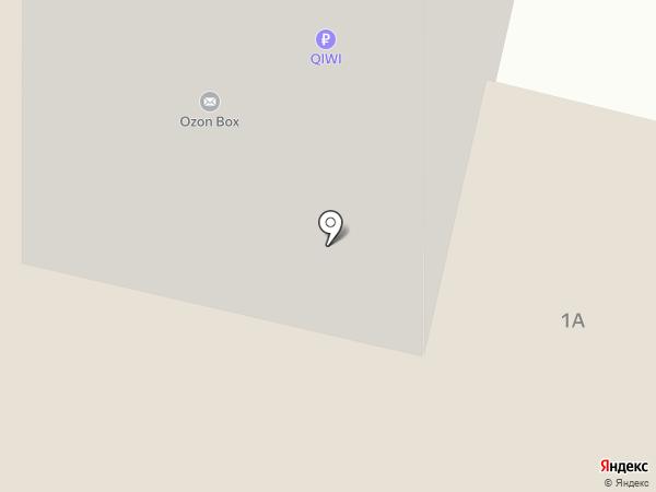 Аптека №4 на карте Пирогово