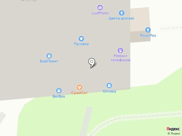 СушиСет на карте Москвы