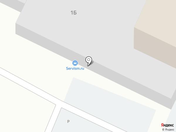 Автотехцентр на карте Мытищ