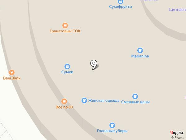 Шаурмания на карте Москвы