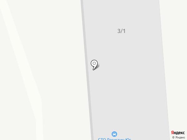 Логистик-Юг на карте Новороссийска