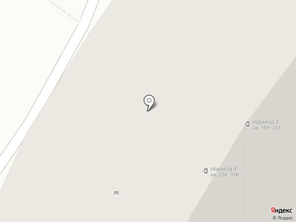Рождественский на карте Мытищ