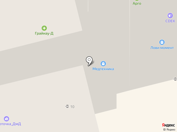 Лазурный берег на карте Домодедово