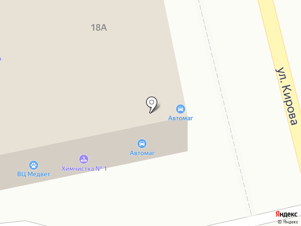 МедВет на карте Домодедово