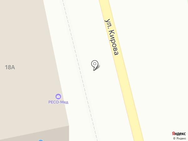 Цветочный салон на карте Домодедово