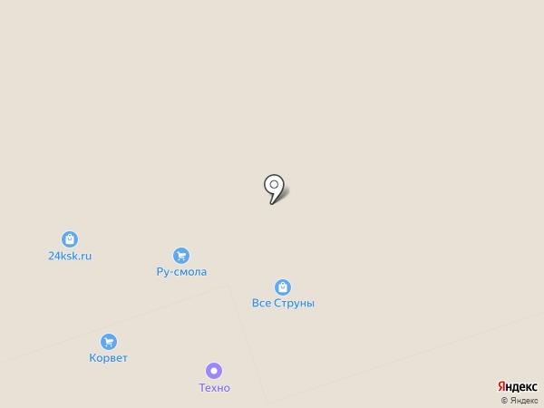 Зеленая ворона на карте Москвы