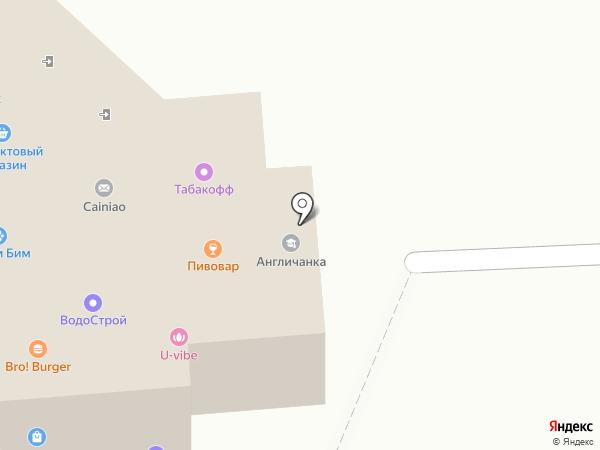 Русский на карте Москвы