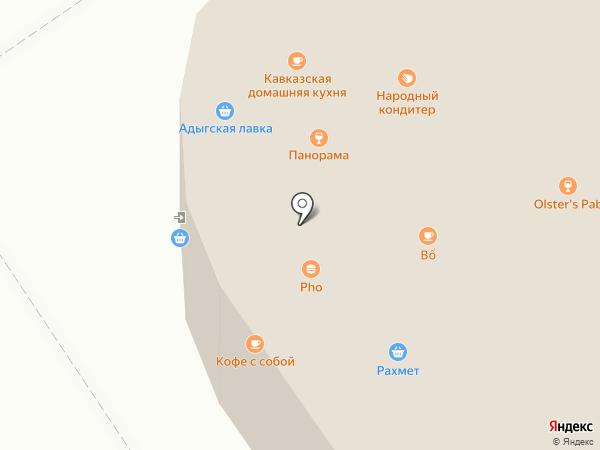 Рынок на карте Москвы
