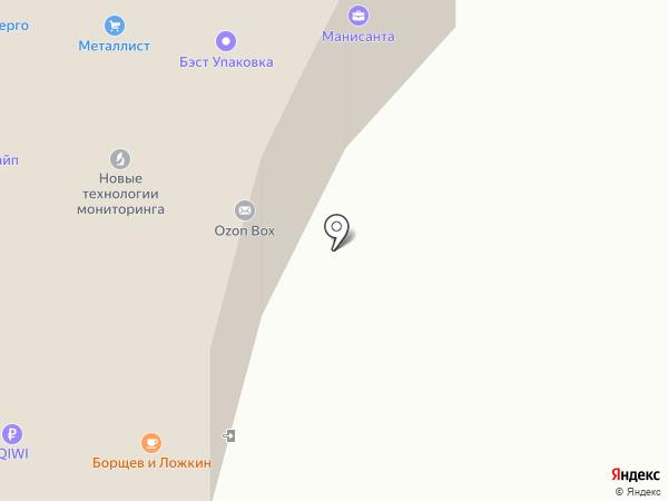 Борщев & Ложкин на карте Мытищ