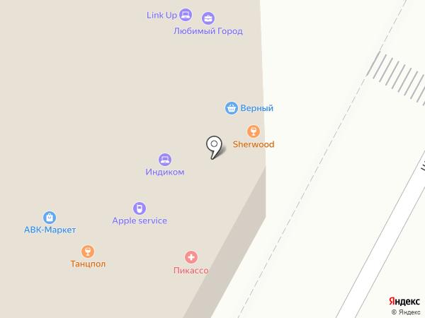 Sherwood на карте Мытищ