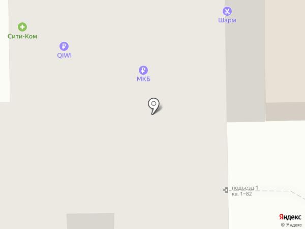 Московский кредитный банк, ПАО на карте Мытищ