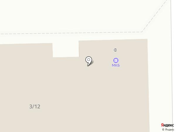 Банкомат, Московский кредитный банк, ПАО на карте Мытищ