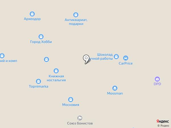 NOGI v RUKI на карте Москвы