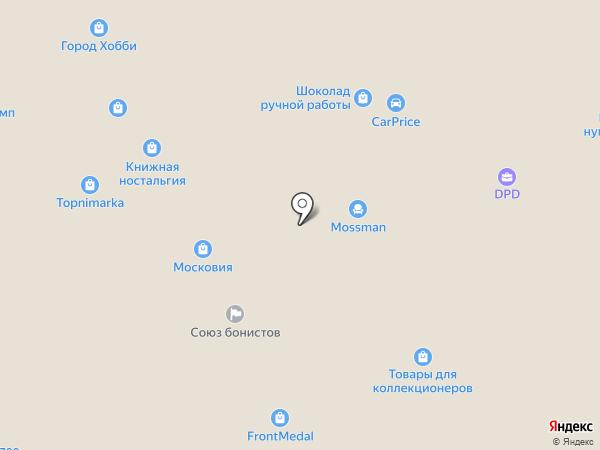 Пента Спорт на карте Москвы