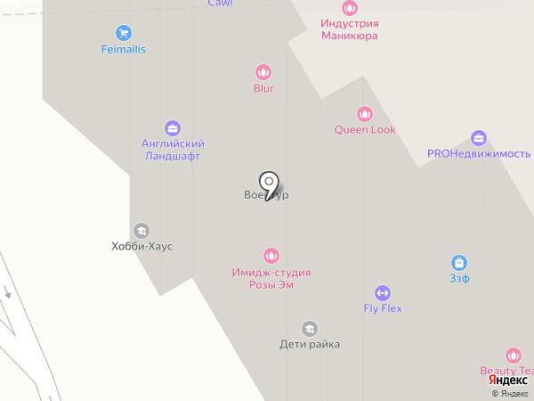 Московский кредитный центр на карте Москвы
