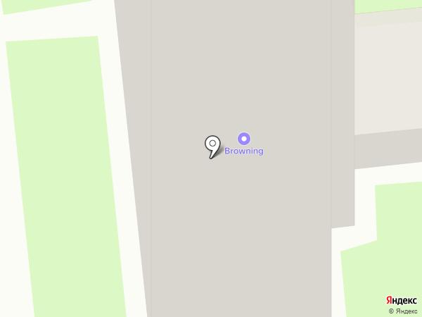 Мегакран на карте Москвы