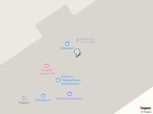 Модистка на карте Москвы