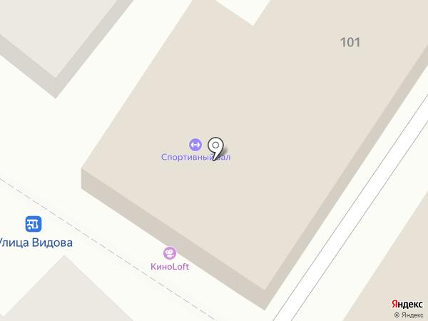 Mark`s gym на карте Новороссийска