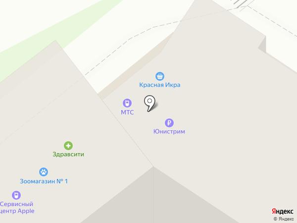 Живика на карте Мытищ