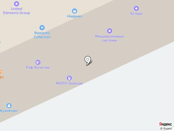 Миракс-Авто на карте Москвы