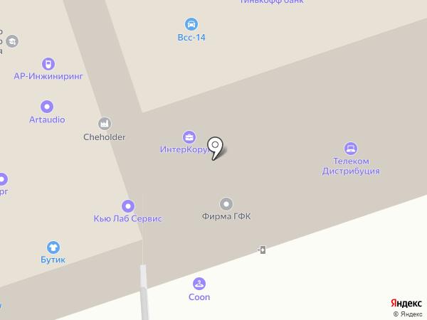 МИКАМ на карте Москвы