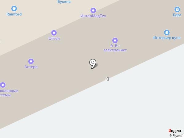ПланЖе на карте Москвы