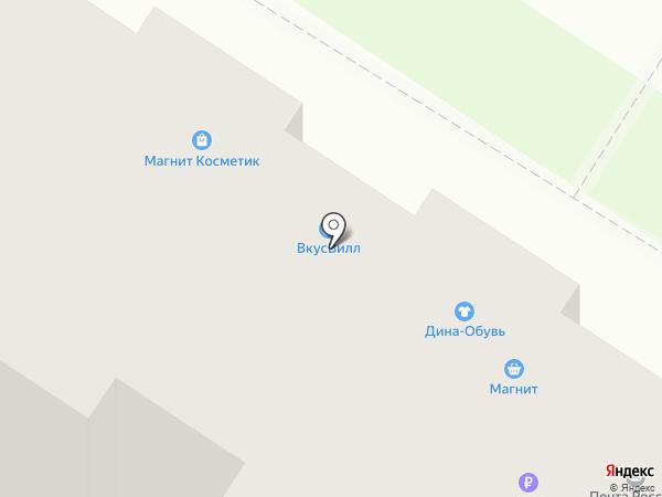 ДИНА на карте Мытищ