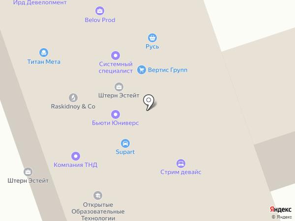 ЛК Техника на карте Москвы