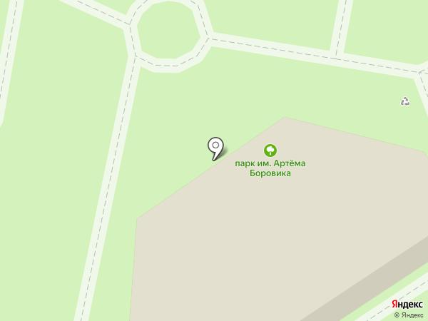 Кафе-грильная на карте Москвы