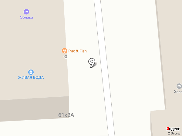 Чермен на карте Москвы