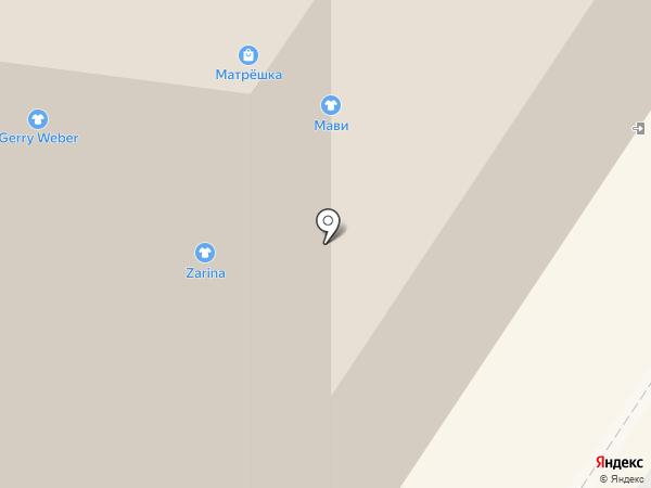 Матрёшка на карте Мытищ