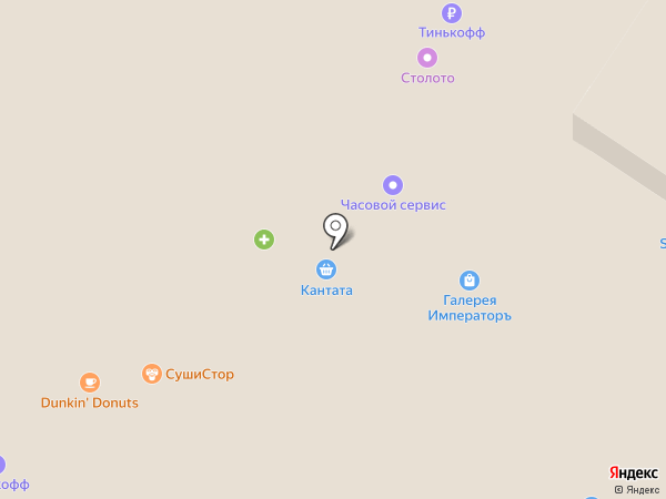 Магазин подарков на карте Мытищ