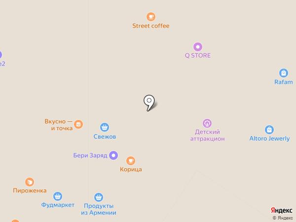 Макдоналдс на карте Мытищ