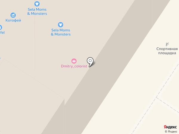 CCC на карте Мытищ