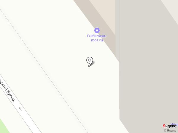 Новоселица на карте Москвы