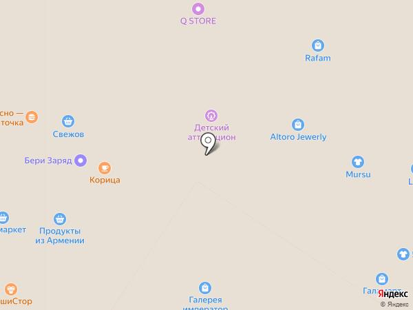 Чистое серебро на карте Мытищ