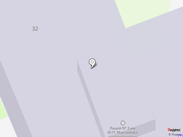 Межшкольный учебный комбинат на карте Домодедово