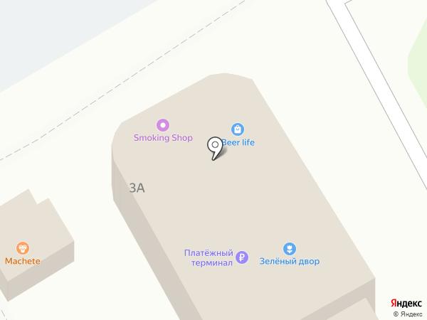 Овощной магазин на карте Новороссийска