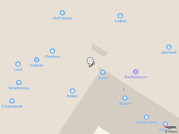 Pandora на карте Мытищ