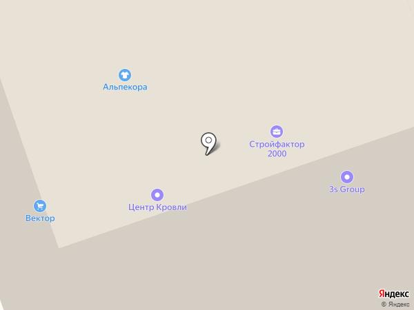 Эстакада на карте Москвы